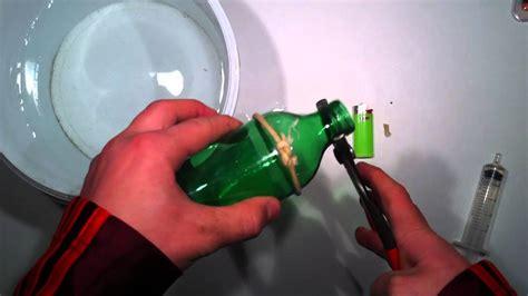 faire un trou dans du verre 5114 couper facilement en deux une bouteille en verre