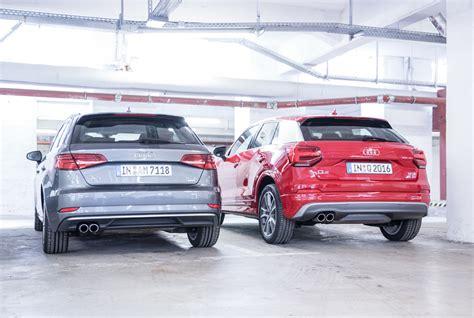 Audi A3 Sportback Unterschied by Audi A3 Sportback Audi Q2 1 4 Tsi Vergleich Test Preise