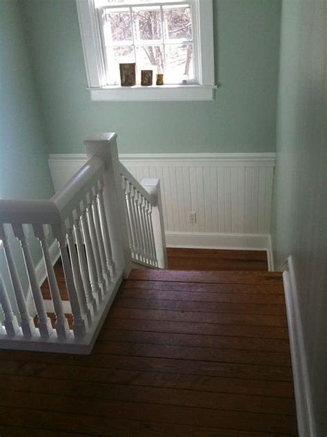 existing wall color behr contemplation   repaint