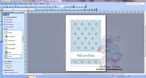 tutorial kad kahwin guna publisher cara buat kad jemputan joy studio design gallery best