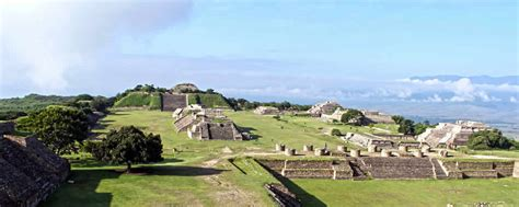 Monte 193 lban archaeological site in oaxaca is popular with tourists