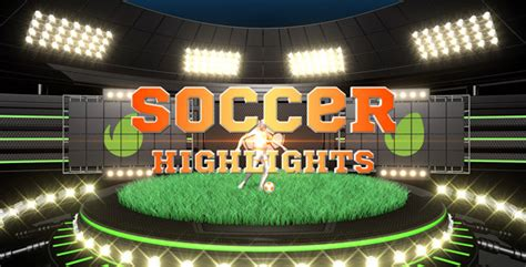 after effects templates free soccer soccer highlights ident broadcast pack by pulsarus videohive