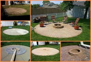 Building A Firepit In Backyard How To Build A Outdoor Pit Patio Fab Diy