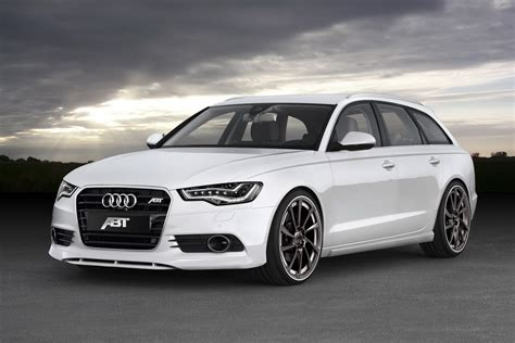 Audi A6 Abt Tuning by Abt Sportsline Customizes New Audi A6 Avant