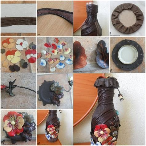 diy decorations step by step how to make flower decorated bottle step by step diy tutorial how to