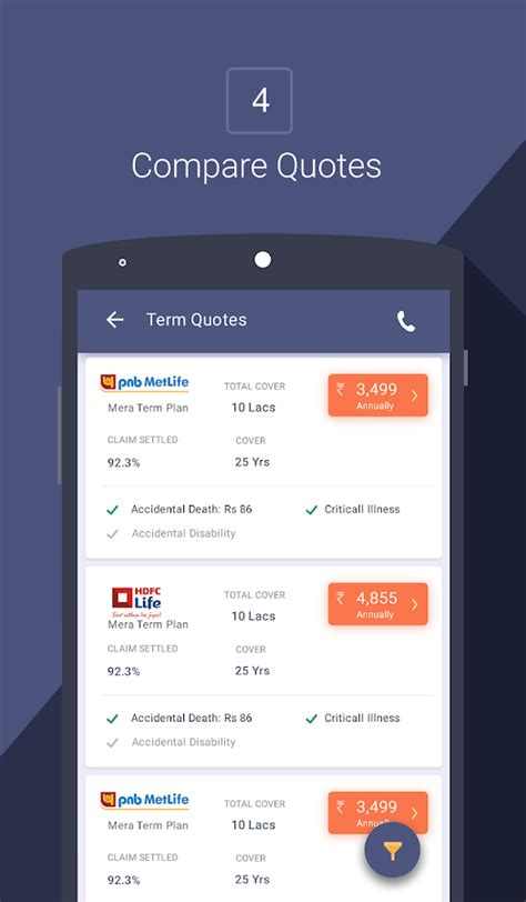 Compare Insurance Policybazaar   Android Apps on Google Play