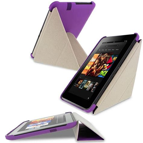 Kindle Hd 7 Origami - roocase folding origami slimshell cover 2013 edition