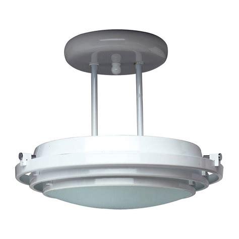 Semi Flush Mount Ceiling Lights Titan Lighting Williamsport 4 Light Vintage Brass Patina
