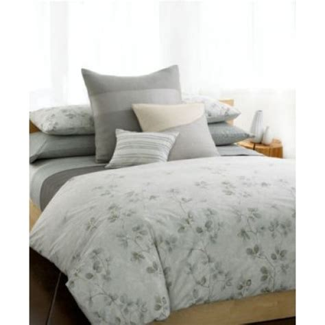 New Calvin Klein Quince Stone King Comforter Ebay