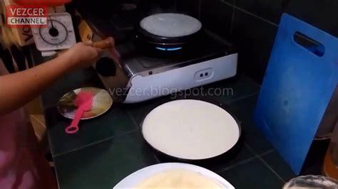 cara membuat risoles youtube cara praktis cepat membuat kulit risoles dadar gulung