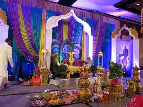 beautiful peacock themed south indian wedding wedding indian wedding stage indian wedding