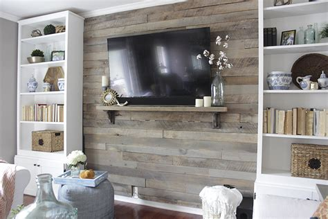 wood plank accent wall walls to hold me up pinterest how to build a pallet accent wall