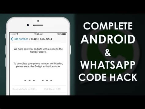 how to hack android phone how to hack whatsapp code complete android phone