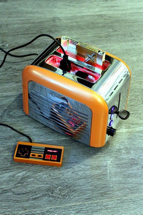 game consoles mod 1 8 retro toaster turned into a working nintendo console