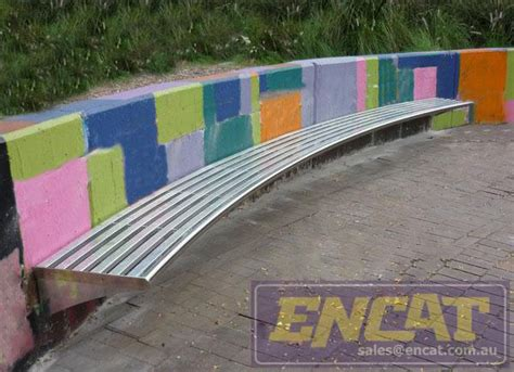 outdoor curved bench seating curved bench seating outdoor seating encat metal civil