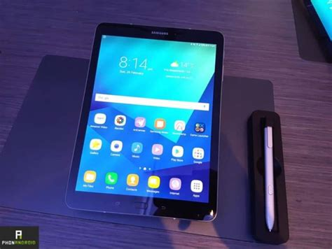 Tablet Samsung S4 galaxy tab s4 benchmark sa fiche technique se d 233 voile sur gfxbench