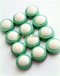 Golf Themed Favors by Golf Chocolate Oreos Cookies Pops Birthday Favors