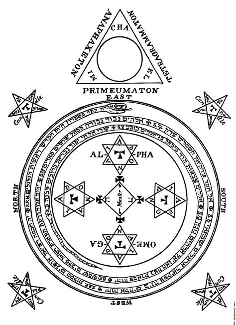 libro solomons seal the magical circle of king solomon