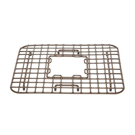 Kitchen Sink Bottom Grid Sinkology Gehry Copper Kitchen Sink Bottom Grid Heavy Duty Vinyl Coated In Antique Brown Sg002
