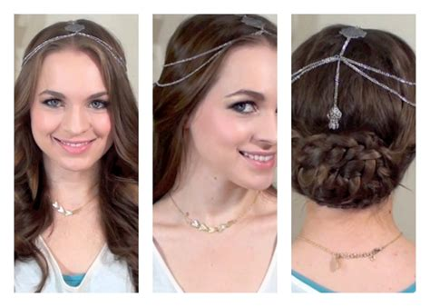 black hair styles to wear when your hair is growing out how to wear hair jewelry collab with anneorshine youtube