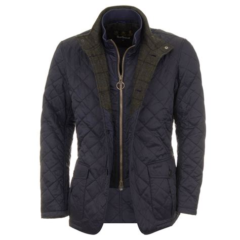 Quilted Jackets by Barbour Prior Quilt Jacket Navy