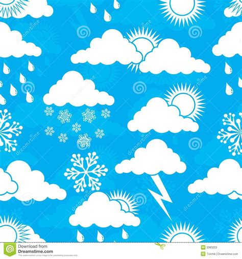 weather pattern image weather pattern vector stock vector illustration of