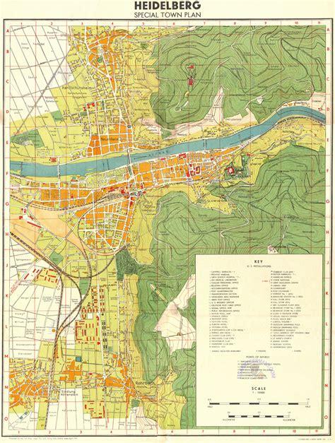 map heidelberg germany usareur cities heidelberg