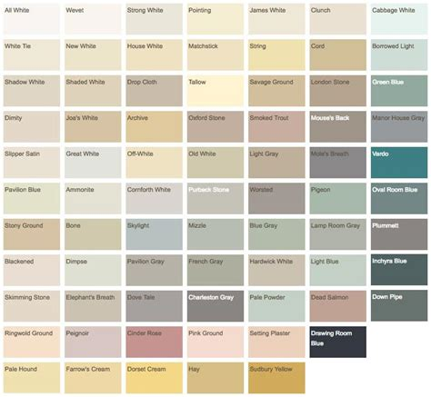 paint colours 2017 farrow and ball colour chart in addition open house also