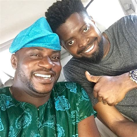 biography of odunlade adekola odunlade adekola and basketmouth pose for rare selfie 36ng