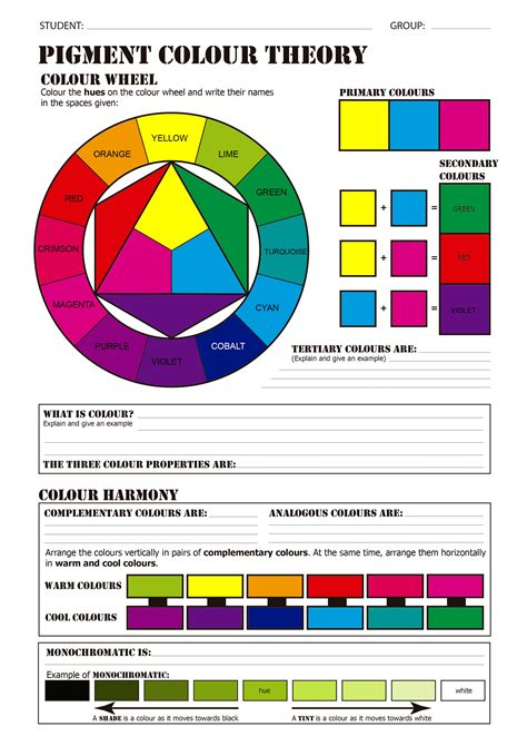 what is color theory 92 pigment color wheel oway hcolor underlying pigment