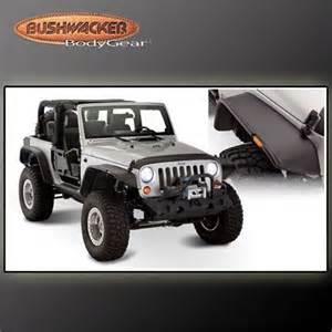 fender flares flat style 07 12 jeep wrangler jk