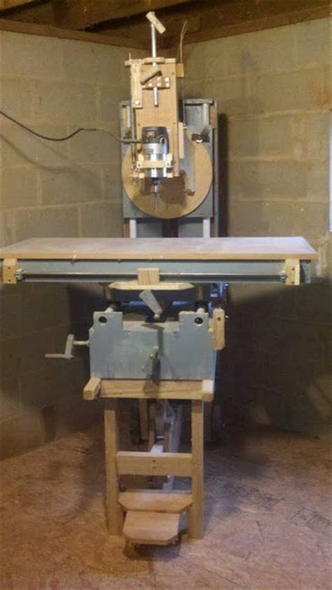 homemade router milling machine  mark  lumberjocks