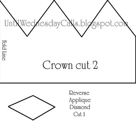 felt crown crowns and crown template on pinterest