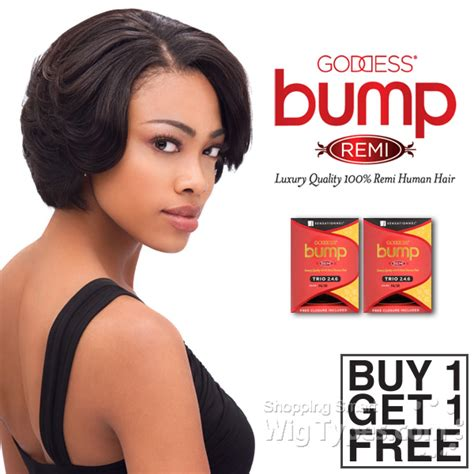 remy bump hairstyles sensationnel 100 remy human hair weave goddess bump trio