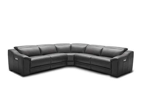Sectional Sofas Nj Silver Grey Recliner Leather Sectional Sofa Nj 775 Leather Sectionals
