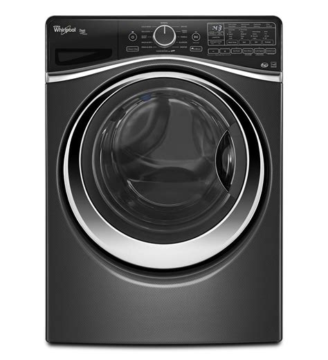 whirlpool black wfw97hedbd whirlpool black diamond front load washer