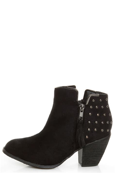 High Heels Mayday dollhouse mayday black studded ankle boots 54 00
