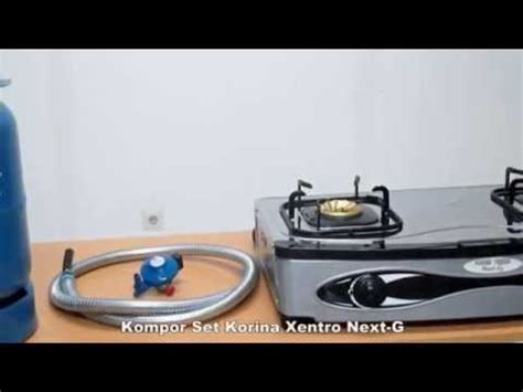 Kompor Blue Gas Korina Xentro blue gaz paket kompor set korina xentro next g