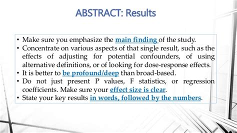 results of a research paper how to write a biomedical research paper