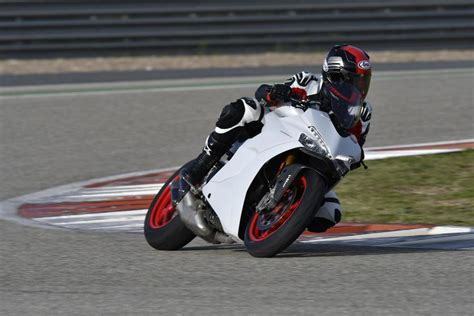 Motorrad Supersportler Kurven by Ducati Supersport 2017 Test