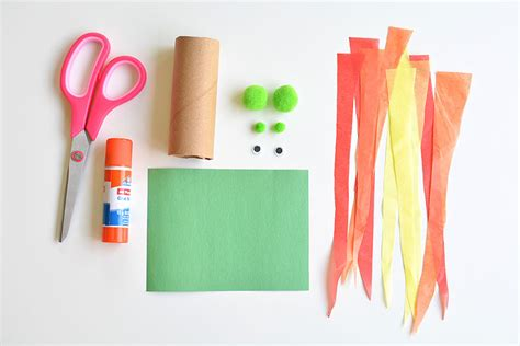 How To Make Flames With Paper - paper roll craft breathing