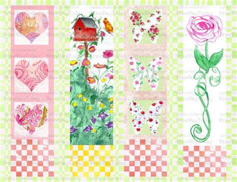 free printable bookmarks flowers bookmark printable images gallery category page 19