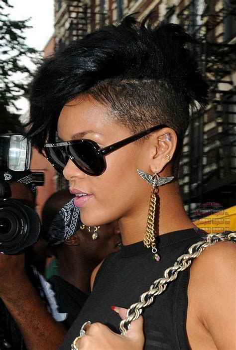 black hairstyles rihanna mohawk hairstyles for black women beautiful hairstyles