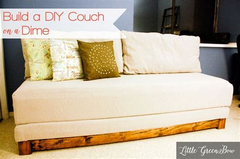 diy sleeper sofa learn how to make a diy that makes out to a bed for