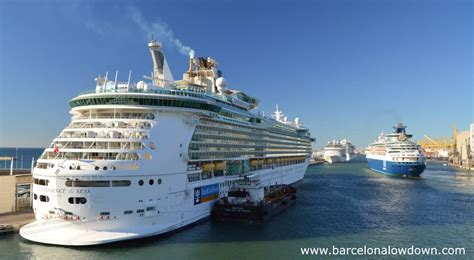 princess cruises barcelona from the cruise ship terminals to barcelona city centre