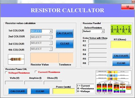 resistor calculator java resistor calculator java 28 images t 233 l 233 charger resistor calculator resistor