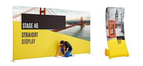 Exhibition Display Racks by Exciting New Fabric Exhibition Display Stand Brochure Free