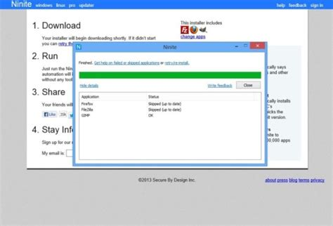 ccleaner zugriff verweigert ninite download freeware de