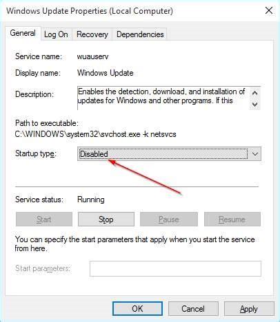 how to cancel windows 10 tutorial cara mematikan disable windows update windows 10