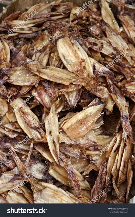 Thailand, Bangkok, Dried Cuttlefish For Sale In A Local ...